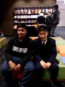 JJ&Koike in disney